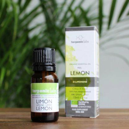Citronový esenciální olej k vnitřnímu použití - potravinářské aroma