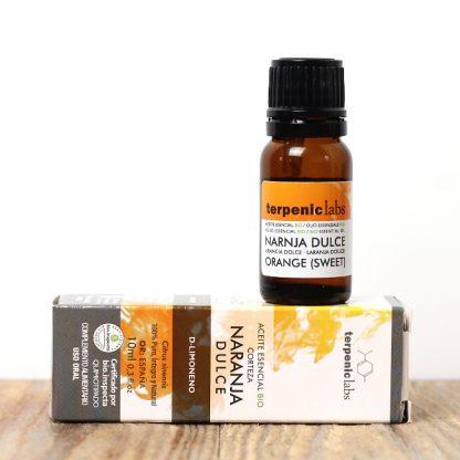 Esenciální olej ze sladkého pomeranče, vhodný ke konzumaci