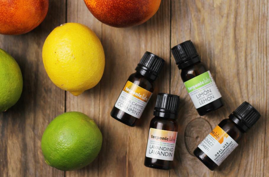 Esenciální oleje a jejich použití do jídla