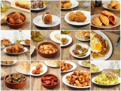 Autentické recepty na španělské tapas a aperitivy