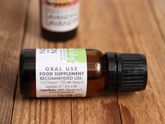 Esenciální olej jako doplněk stravy