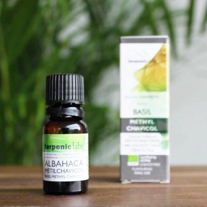 Esenciální olej bazalka BIO (potr. kvalita)