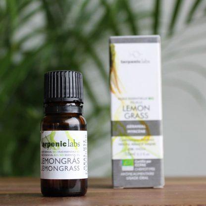 Esenciální olej citronová tráva BIO, do jídla i kosmetiky