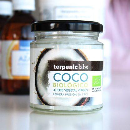 BIO panenský kokosový olej první lis za studena Terpenic Labs