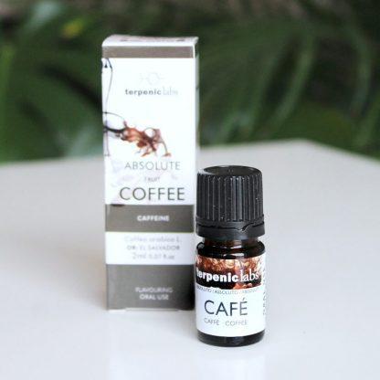 Kávové absolue potravinářské - 100% přírodní extrakt z kávových zrn