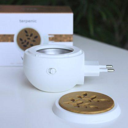 Malý přenosný elektrický aromadifuzér