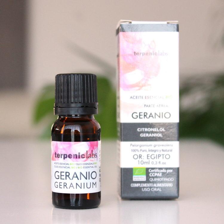 BIO esenciální olej geránium do kosmetiky i do jídla