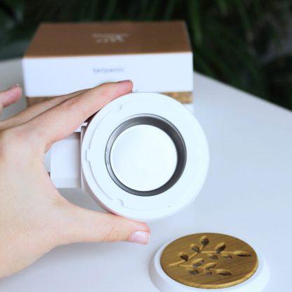 Malý přenosný elektrický aromadifuzér pro zdravou aromaterapii