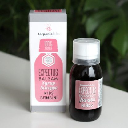 Přírodní dětský balzamický sirup s esenciálními oleji