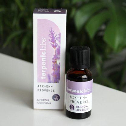 Přírodní synergie z esenciálních olejů do difuzéru nebo aromalampy s vůní Provence