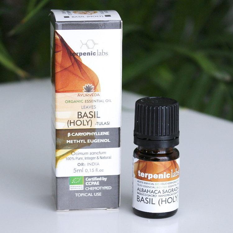 Esenciální olej bazalka posvátná BIO