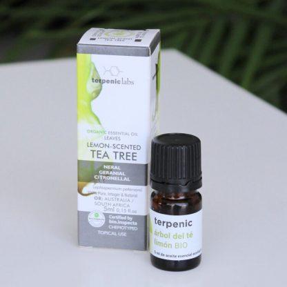 Esenciální olej čajovník citronový BIO