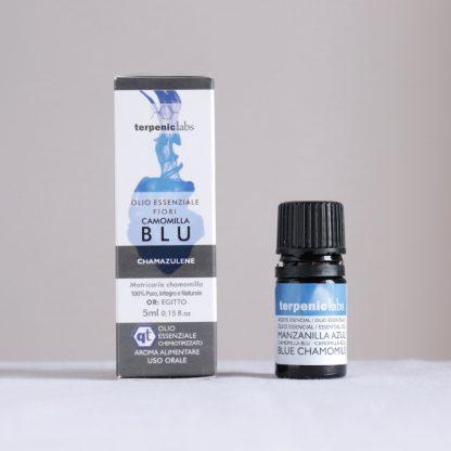 Esenciální olej heřmánek modrý - německý, potravinářská kvalita, Terpenic Labs