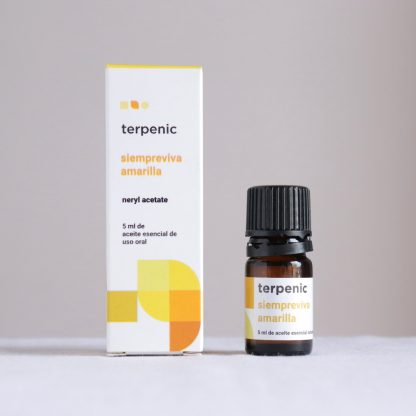 Esenciální olej smil italský - slaměnka - potravinářská kvalita Terpenic
