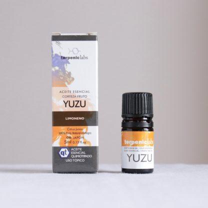 Japonský esenciální olej yuzu