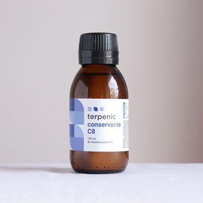 Přírodní konzervant do kosmetiky Sharomix c8