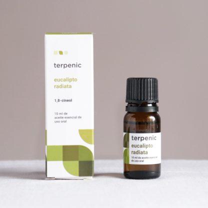 Esenciální olej eukalyptus radiata k vnitřnímu a vnějšímu užití