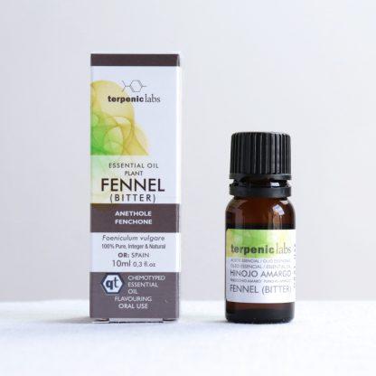 Éterický olej fenykl hořký vnitřní vnější užití Terpenic