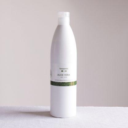 Přírodní aloe vera gel pro kosmetické použití