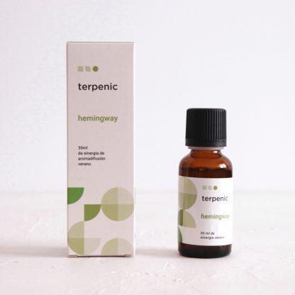 citrusově-bylinná synergie esenciálních olejů do difuzéru