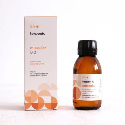 Muscular BIO – přírodní masážní tělový olej pro uvolnění svalů