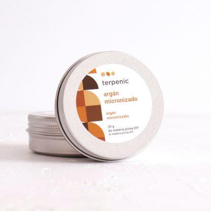 Mikronizovaný arganový exfoliant - čistě přírodní peelingový prášek do kosmetiky z arganu